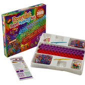 Резинки для  плетения браслетов loom bands 2 станка 3000 Bracelet Band
