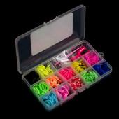 Набор Rainbow loom bands 499 резинок для плетения браслетов  в кейсе