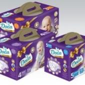 Новие Подгузники детские Dada Premium  мегапак коробка
