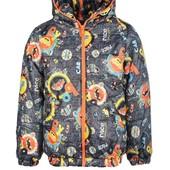 Куртка демисезонная для мальчика  Машинка 2 цвета
