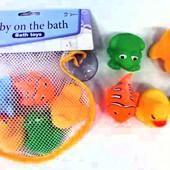 Распродажа - Набор для ванной Зверюшки в сеточке от Grow-Up