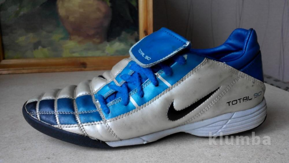 № 1441 кроссовки бампи Nike Total сороконожки 40 фото №1