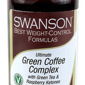 Зеленый кофе и кетоны малины США, 60 капсул