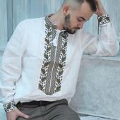 Вышиванка мужская с длинным и коротким рукавом - Вишиванка чоловіча