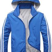 Куртка мужская спортивная, осень, 100% хлопок! Под Заказ!