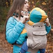 Эрго-рюкзак переноска для малышей кенгуру 0314