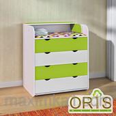 Детский комод-пеленатор Oris-mebel, четыре ящика на телескопических направляющих (цвета в ассортимен