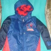 Фирменная TU новая куртка  для мальчика  5 лет