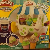 play doh sweet shoppe ice cream  набор для лепки  Фургончик с мороженым