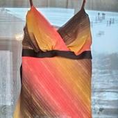 Гипюровая маечка с люрексом М 44 -46