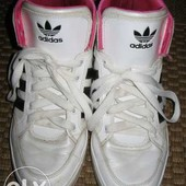 Кросівки (черевики, кроссовки) Adidas 39 р. стелька 25 см. шкіра + лак