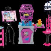 Набор мебели Монстр хай монстер Арт Класс студия Art class studio monster high mattel