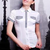 Женская блузка с коротким рукавом Кортни2