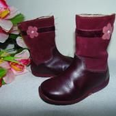 Сапоги деми Clarks  5F(21,5)р-р ,по стельке 13,5 см.Мега выбор обуви и одежды!