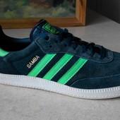 № 1487 кроссовки Adidas Samba 41 кожа Оригинал