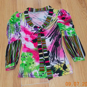 Красивая фирменная блузка Ezotica для девушки, размер 44
