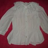 Фирменная блузка на 2-3 года