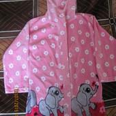 Халат ТМ Габби с слонами для девочки