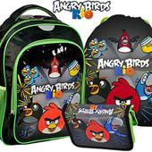 Комплект школьный Рюкзак +пенал+сумка Angry Birds Rio