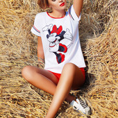 Блуза кимоно Mickey