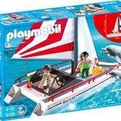Потрясающий конструктор Playmobil Катамаран и дельфины. Германия