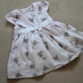 милое платьице в зайчики