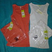 Майки Adidas размер ХXS,белая и оранжевая.100% Оригинал.