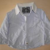 Красивая рубашечка на мальчика 12 -18 месяцев