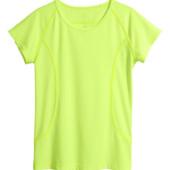 #46. Новая спортивная футболочка H&M athletic, размер 12-14 лет, модель унисекс. Рост 158-164 см.