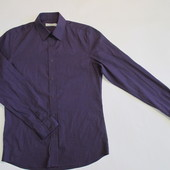 Рубашка сиреневая