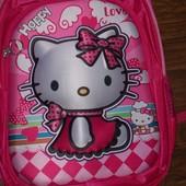 рюкзак 3D для девочки Китти
