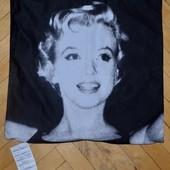 Шикарная наволочка для декоративных подушек в ваш дизайн с живыми принтами Мэрилин Монро черно - бел