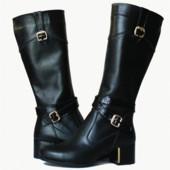 стильные кожаные сапоги  Модель: 5020-33