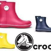 Супер Цена Crocs cапожки Jaunt boot raspberry/navy/black/blue, новые! оригинал!