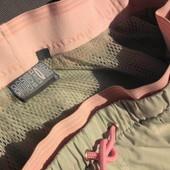 Bodi Zone. Тонкие спортивные штаны на сетчатой подкладке.