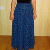 Вечернее платье с косточками, на корсете и шикарной юбкой. США.