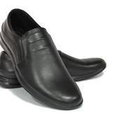комфортные мужские туфли натур. кожа 4 модели КФ 206,207,208,209
