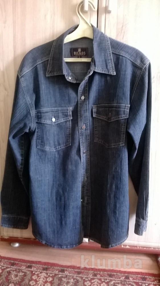 Отличная практичная джинсовая рубашка фото №1