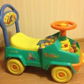 Машинка каталка с Винни Пухом   KiddieLand Disney