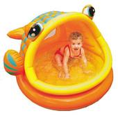 Детский надувной бассейн Рыбка