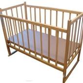КФ 2 детская кроватка с опускающейся боковиной