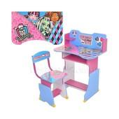 Парта -Monster High, регулир-я высота, со стульчиком, в кор-ке