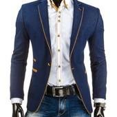 ультрамодный мужской пиджак