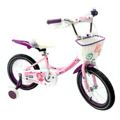 Детский двухколесный велосипед Angel Ангел для девочек на 14, 16, 20 д