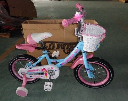 Детский двухколесный велосипед Азимут Angel Ангел для девочек на 14, 16, 20 д фото №1