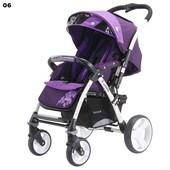 Прогулочная коляска Quatro Monza 06 Violet, фиолетовый