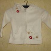 Флисовая курточка девочке ( 86 см )