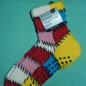 Новые фирменные носки-тапки с тормозами 35-38 р-р