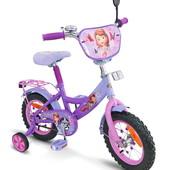 Disney София 12 Велосипед детский двухколесный