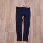 #142. Новые леггинсы от Zara для девочки, размер 6-7 лет.
